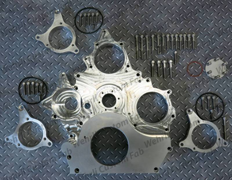 Duramax Billet Front Engine Cover