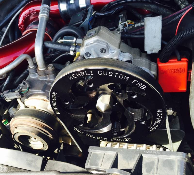 2006 2010 Lbz Lmm Duramax Twin Cp3 Kit Raw Custom Pulley