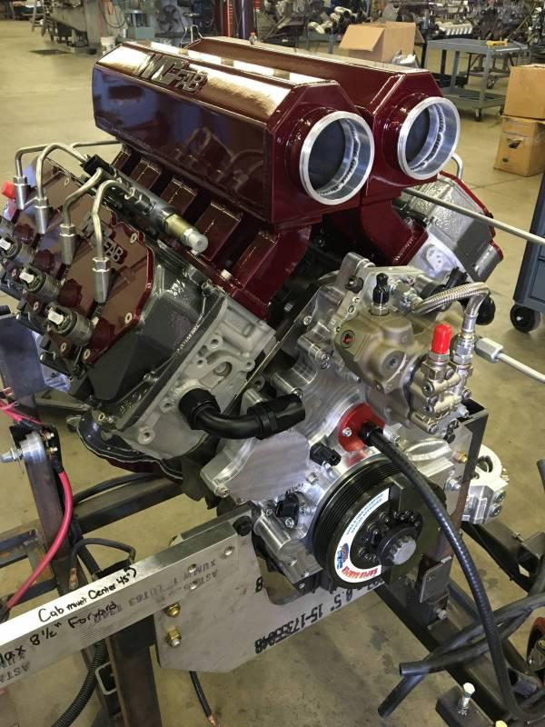 Duramax Billet Front Engine Cover