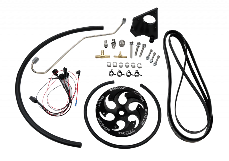 2006 2010 Lbzlmm Duramax Twin Cp3 Kit Black Anodized Pulley