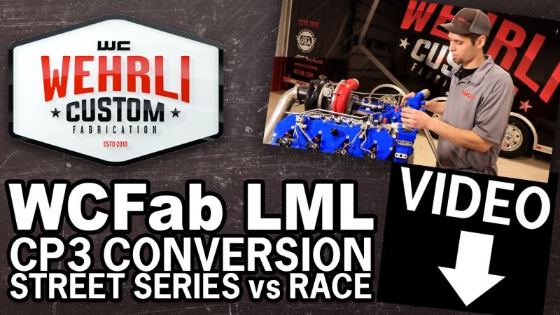 2011-2016 LML Duramax CP3 Conversion Kit- Street Series