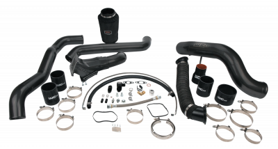 Wehrli Custom Fabrication - 2011-2016 LML Duramax S300 Single Turbo Install Kit
