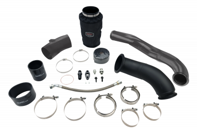 Wehrli Custom Fabrication - 2004.5-2007 5.9 Cummins S300 High Mount 2nd Gen Swap Kit
