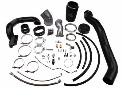 Wehrli Custom Fabrication - 2010-2012 6.7 Cummins S400/Stock Twin Turbo Kit