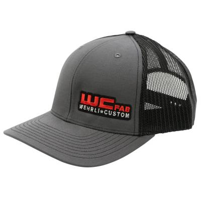 Wehrli Custom Fabrication - Snap Back Hat Charcoal/Black WCFab