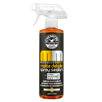 Chemical Guys - Chemical Guys Meticulous Matte Detailer and Spray Sealant, 16 fl oz
