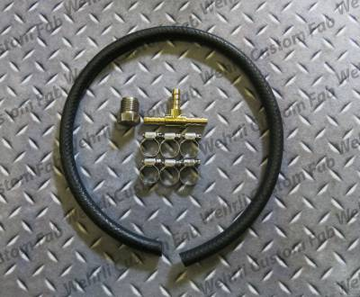 Wehrli Custom Fabrication - Fuel Pressure Relief Valve Delete Kit for LB7