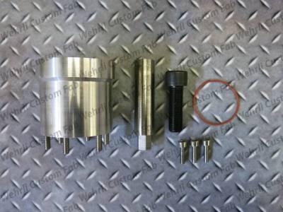 Wehrli Custom Fabrication - Fuel Pump Drive Kit for Billet Front Engine Cover