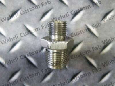 Wehrli Custom Fabrication - High Pressure Rail Fitting for LB7, LLY, LML