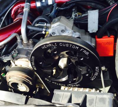 Wehrli Custom Fabrication - LBZ/LMM Duramax Twin CP3 Kit Raw/Custom Pulley