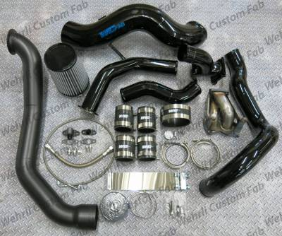 Wehrli Custom Fabrication - S400 Single Install Kit LLY Duramax