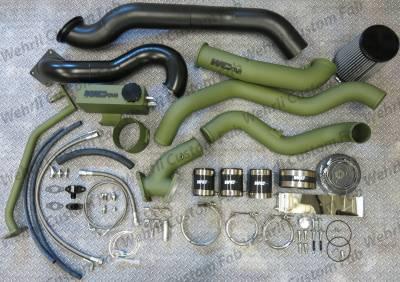 Wehrli Custom Fabrication - 2007.5-2010 LMM DuramaxS400/S300 Twin Turbo Install Kit