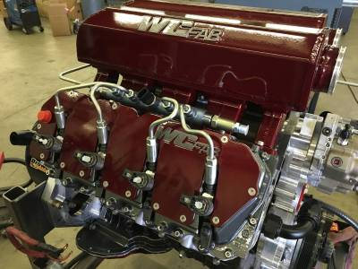 Wehrli Custom Fabrication - Duramax Billet Upper Valve Cover Set LLY, LBZ, LMM