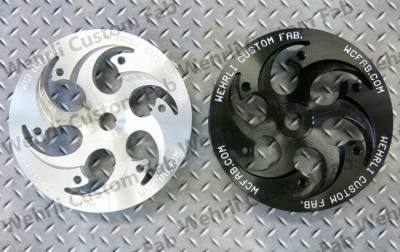 Wehrli Custom Fabrication - Duramax Billet CP3 Pulley (Shallow Offset)