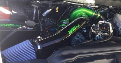 "Wehrli Custom Fabrication - S300 Single 4"" Intake Kit '11-16"