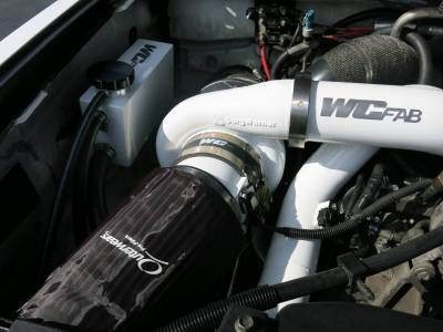 Wehrli Custom Fabrication - 2007.5-2010 LMM Duramax Twin Turbo Coolant Tank Kit