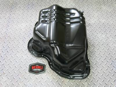 Wehrli Custom Fabrication - Lower Oil Pan with Turbo Drain Fitting LML