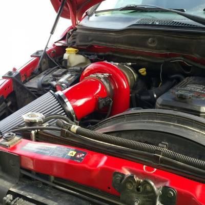 Wehrli Custom Fabrication - 2003-2007 5.9L Cummins S400/Stock Twin Turbo Kit