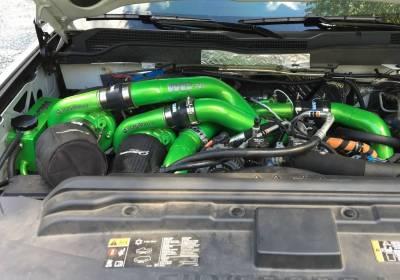 Wehrli Custom Fabrication - VGT/S300DuramaxTriple Turbo Kit