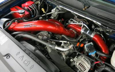 "Wehrli Custom Fabrication - LML 4"" One Piece Intake Kit (For Stock Turbo)"