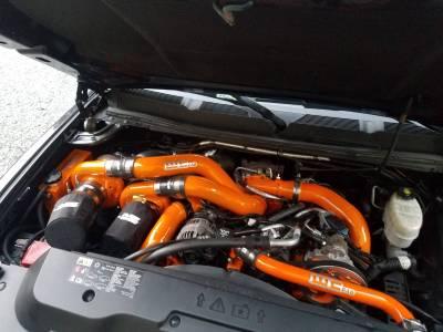 Wehrli Custom Fabrication - Duramax VGT/S300Triple Turbo Kit