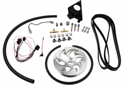 Wehrli Custom Fabrication - 2001-2004 LB7 Duramax Twin CP3 Kit Raw/Custom Pulley