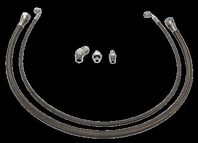 Wehrli Custom Fabrication - Twin Turbo Oil Line Kit (S400) for LML Duramax