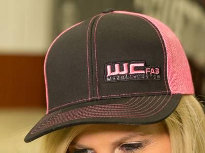 Wehrli Custom Fabrication - Snap Back Hat Black/Pink WCFab