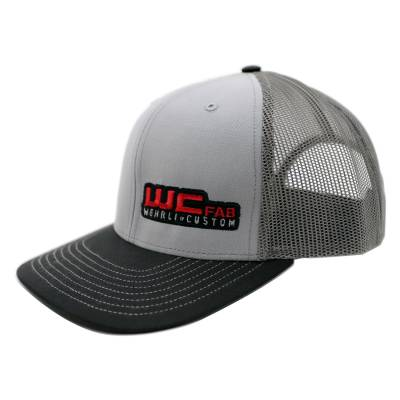 Wehrli Custom Fabrication - Snap Back Hat Grey/Charcoal/Black WCFab