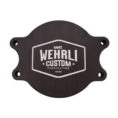 Wehrli Custom Fabrication - Duramax CP3 Block Off Plate