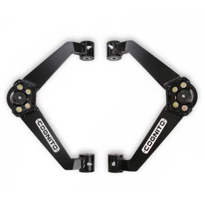 Cognito Motorsports - 2001-2010 Duramax Cognito Upper Control Arm Kit (Ball Joint style boxed w/o dual shock mounts)