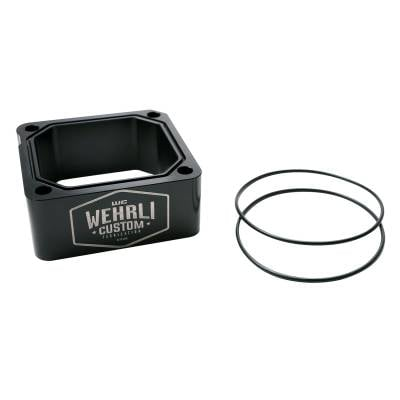 Wehrli Custom Fabrication - 1998.5-2007 5.9L Cummins Intake Grid Heater Delete Kit