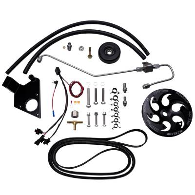 Wehrli Custom Fabrication - 2011-2016 LML DuramaxTwin CP3 Kit Black Anodized Pulley