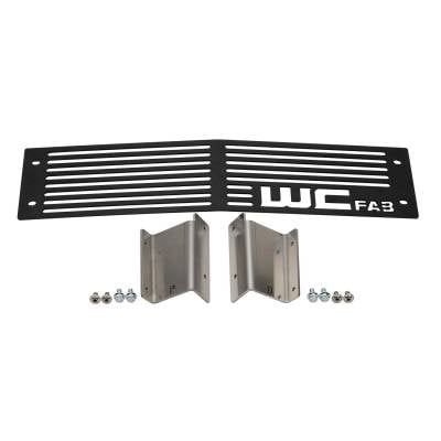Wehrli Custom Fabrication - 2015-2019LML/L5PDuramax Chevrolet Silverado Bumper Grille