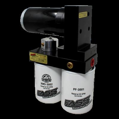 FASS Fuel Systems - Fass Titanium Signature Series 290 GPH Lift Pump for 1998.5-2004.5 Cummins