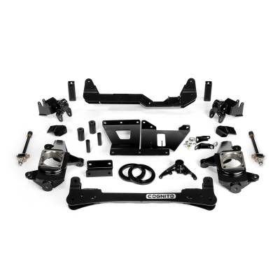 "Cognito Motorsports - 2001-2010 LB7/LLY/LBZ/LMM Duramax Cognito - 6"" Standard Lift Kit"