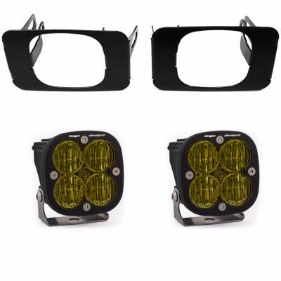 Baja Designs - 2017-2020 6.7L Power Stroke Baja Designs SAE Fog Pocket Kit