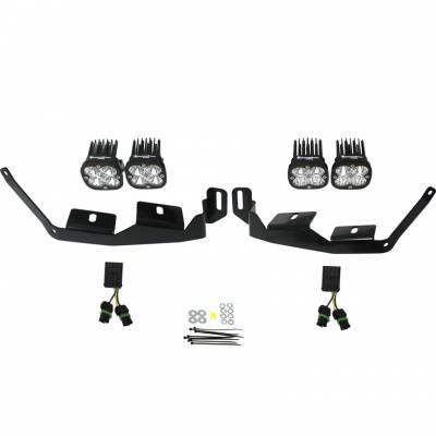 Baja Designs - Polaris RZR XP1000/RS1/Turbo S Baja Designs Sportsmen Headlight Kit