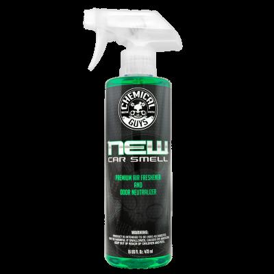 Chemical Guys - Chemical Guys New Car Scent Air Freshener & Odor Eliminator 16 oz Spray Bottle