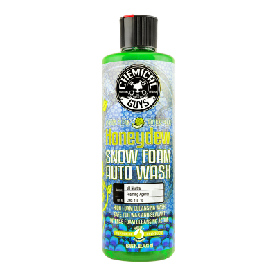 Chemical Guys - Chemical Guys Honeydew Snow Foam Extreme Suds Cleansing Wash Shampoo 16 oz