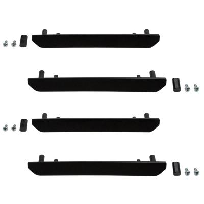 Wehrli Custom Fabrication - 2020+ GMC 2500/3500HD Fender Flare Billet Marker Light Delete Kit, No Logo
