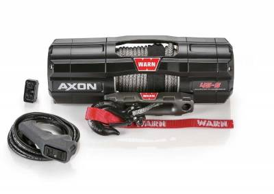 Warn Industries - WARN AXON 45-S POWERSPORT WINCH, 50ft. SYNTHETIC ROPE