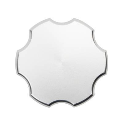 Wehrli Custom Fabrication - 2001-2021 Duramax Billet Aluminum Oil Fill Cap, Clear Anodized