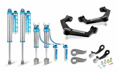 """Cognito Motorsports - 2020-2021 L5P Duramax Cognito - 3"""" Elite Leveling Kit with King 2.5"""" Reservoir Shocks"""