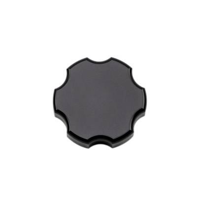 Wehrli Custom Fabrication - 1999-2019 GM 1500/2500/3500 Billet Aluminum Brake Master Cylinder Cap, Black Anodized