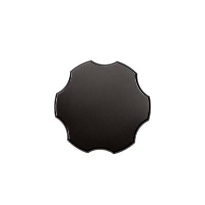 Wehrli Custom Fabrication - Billet Aluminum Coolant Tank Cap, Black Anodized