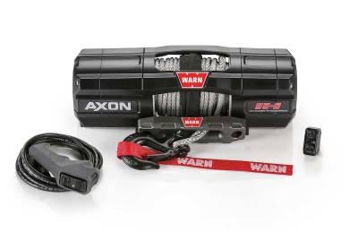 Warn Industries - WARN AXON 55-S POWERSPORT WINCH, 50ft. SYNTHETIC ROPE