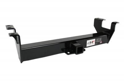Big Hitch Products - BHP 07.5-14 GM Short Box BELOW Roll Pan 2 inch Receiver Hitch