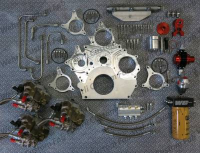Wehrli Custom Fabrication - Duramax Billet Front Engine Cover - Image 2