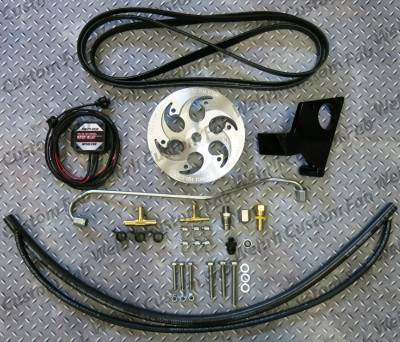Fuel System Parts & Kits - Dual CP3 Kits & Misc. Parts - Wehrli Custom Fabrication - 2004.5-2005 LLY Duramax Twin CP3 Kit Raw/Custom Pulley